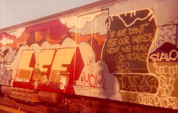 Racing Car, 1976 - Lee Quinones