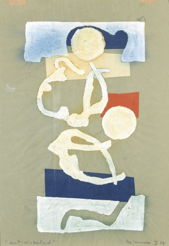 ent-wickelnd, 1949 - Leo Leuppi