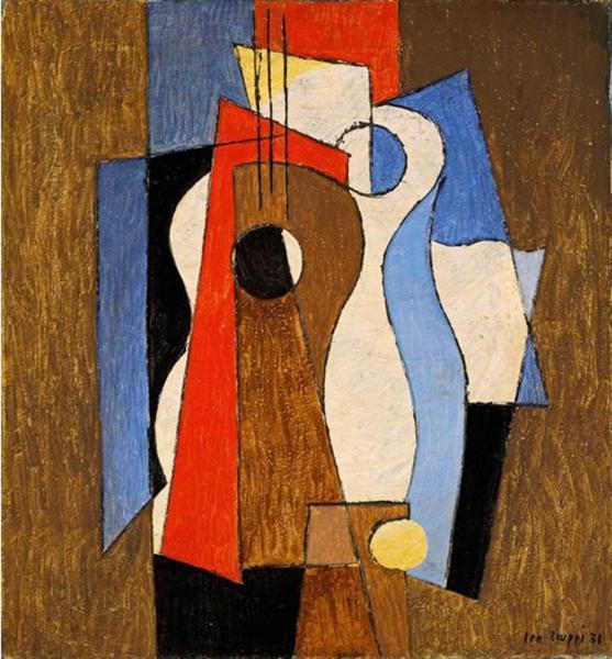 Komposition, 1931 - Leo Leuppi