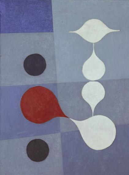 Variation IX, 1947 - Leo Leuppi
