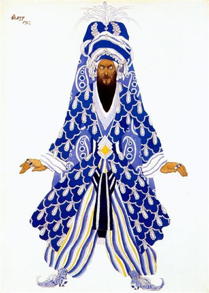 Le sultan vindicatif, 1922 - Leon Bakst