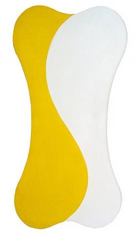 Yellow White [Sun], 1959 - Leon Polk Smith