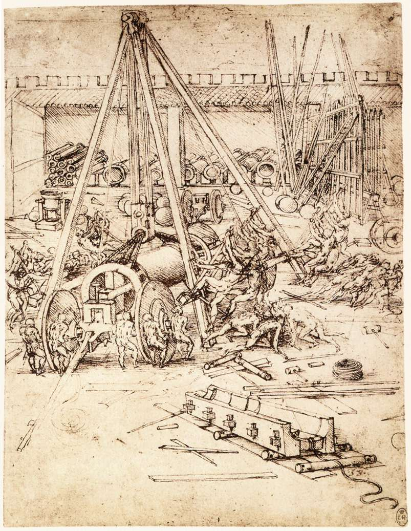 Cannon foundry, 1487