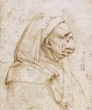 Caricature, c.1500 - Leonardo da Vinci