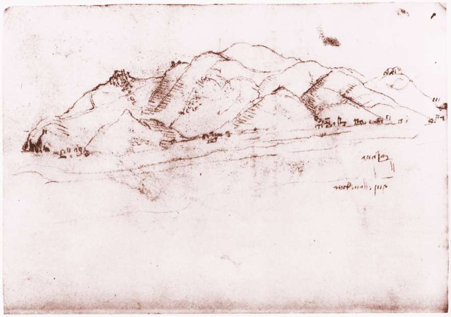 Landscape near Pisa, 1502