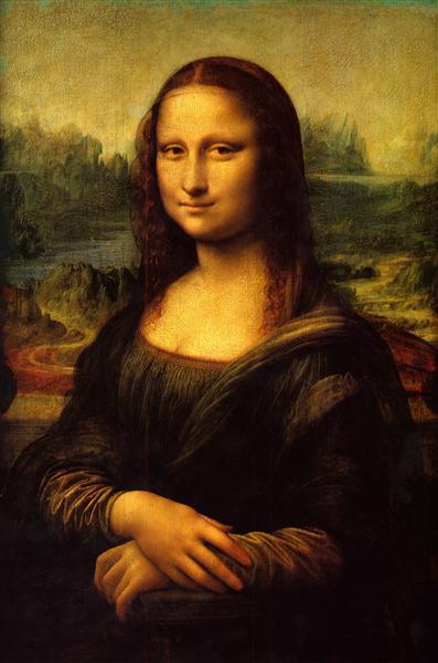 Мона Лиза, c.1503 - c.1519 - Леонардо да Винчи