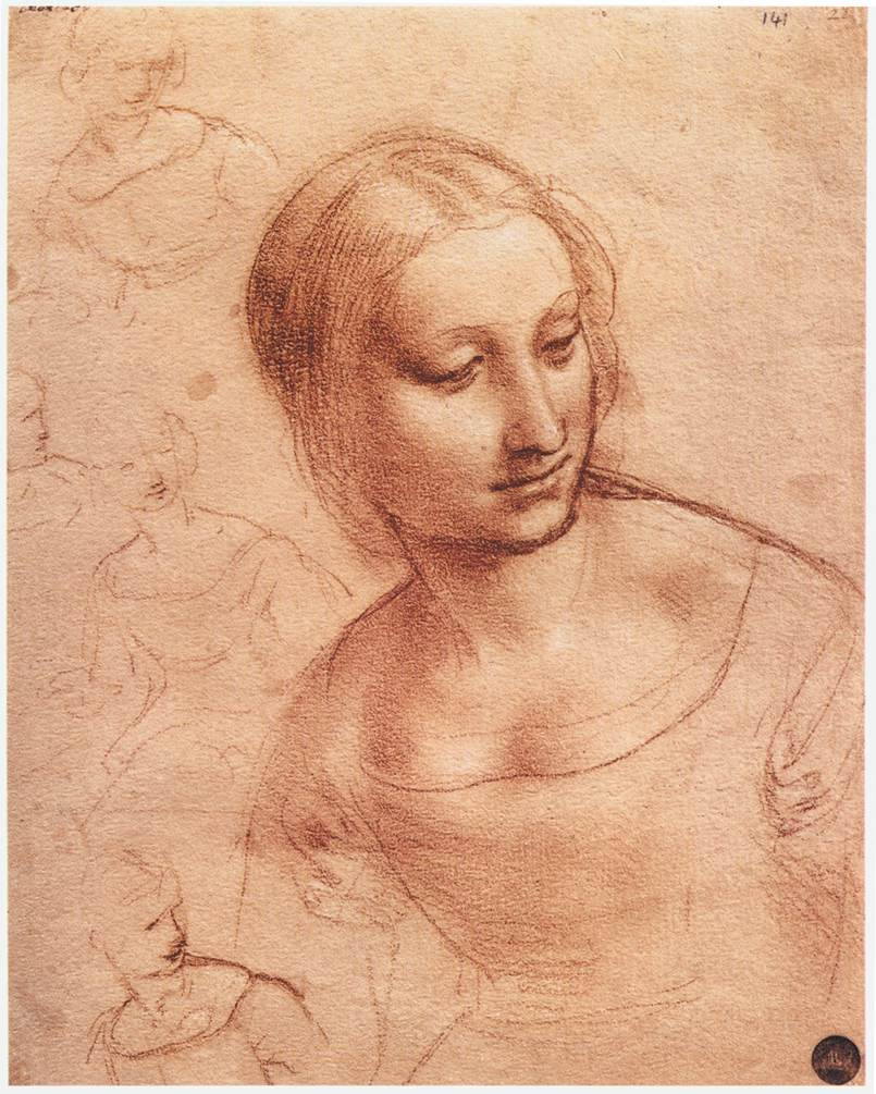 Study for Madonna with the Yarnwinder, 1501