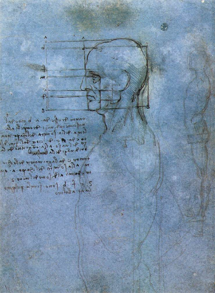 Study of proportion, 1490