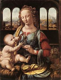 La Madonna del garofano - Leonardo da Vinci