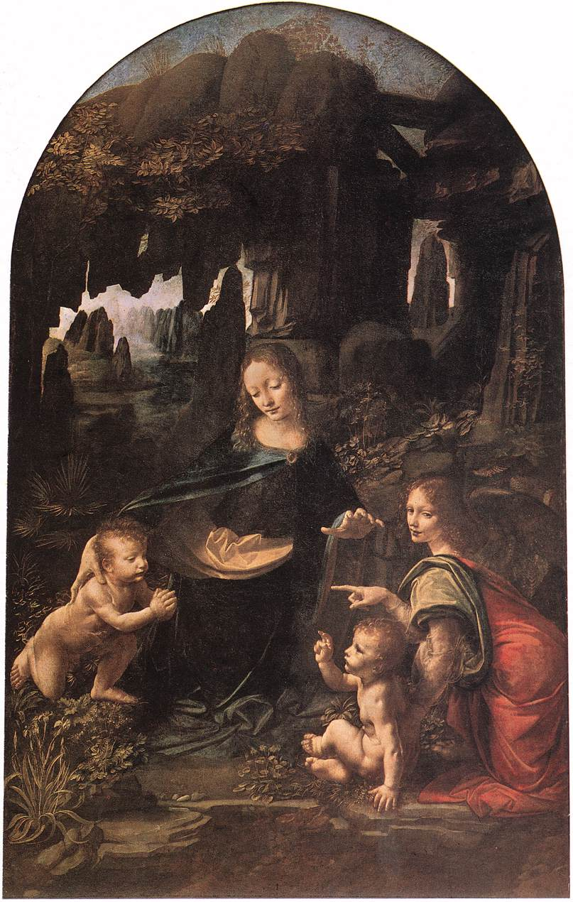 The Virgin of the Rocks, 1485