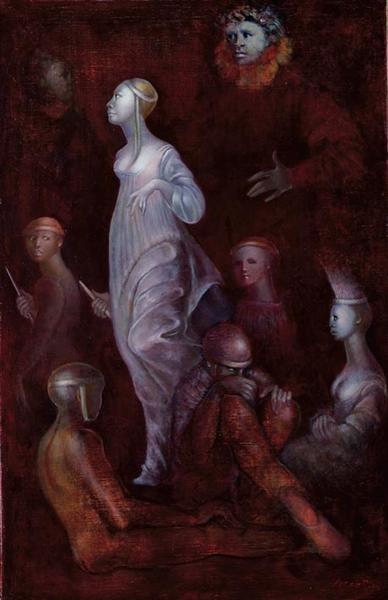 Mémoire des fragments passés, 1984 - Leonor Fini