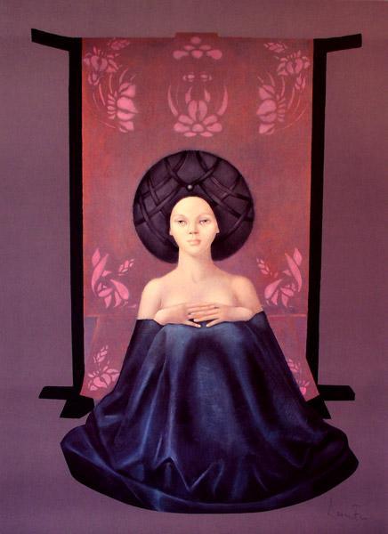 Retour de voyage II, 1985 - Leonor Fini