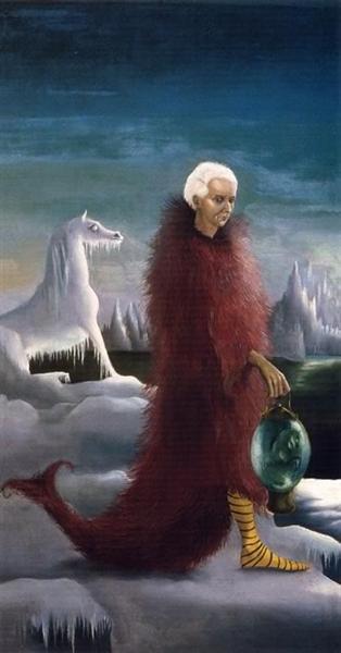 Portrait of Max Ernst, 1939 - Leonora Carrington