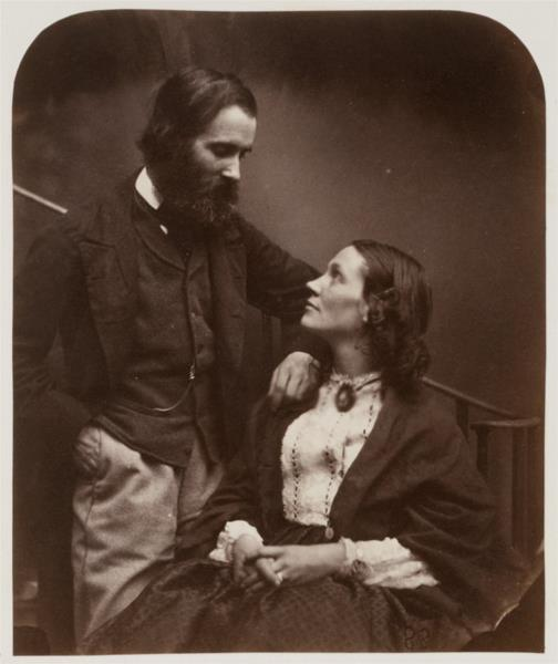 Alexander Munro and his wife, Mary Carruthers, 1863 - Lewis Carroll