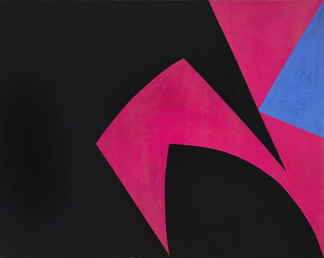 Magical Space Forms (Black, Fuchsia), 1951 - Lorser ...