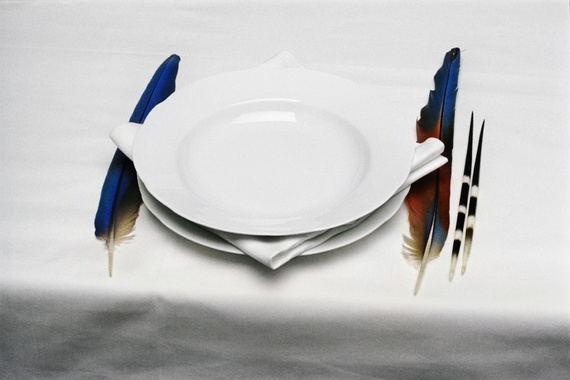 Origin of Table Manners, 1971 - Lothar Baumgarten