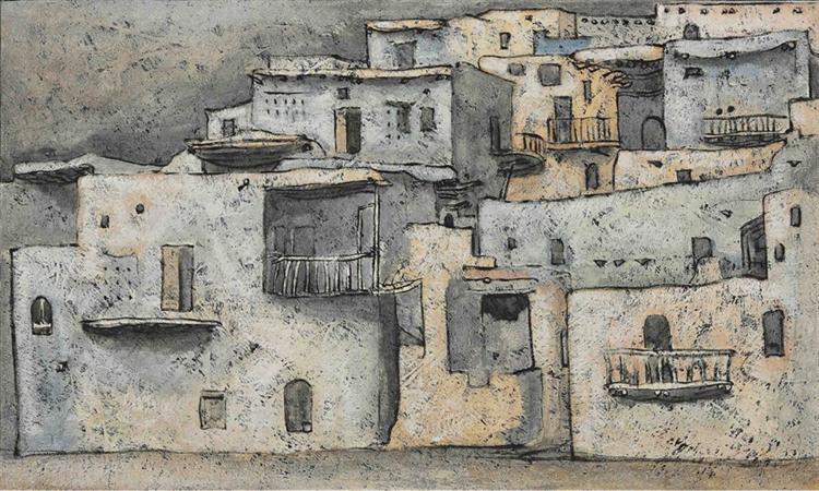 Maaloula, 1964 - Louay Kayyali