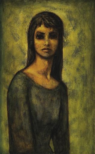 Portrait of a Lady, 1964 - Louay Kayyali