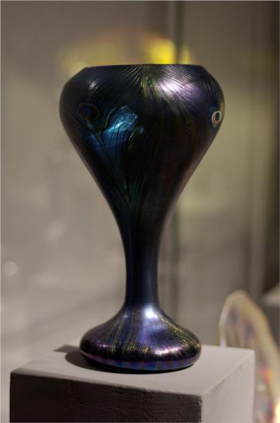 Peacock Decorative Vase Louis Comfort Tiffany Wikiart Org