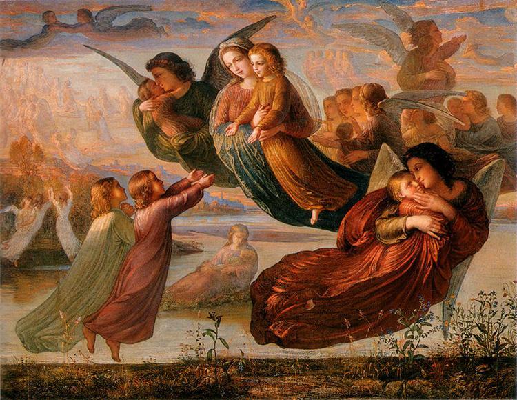 Poème de l'âme 5: Souvenir du ciel - Louis Janmot