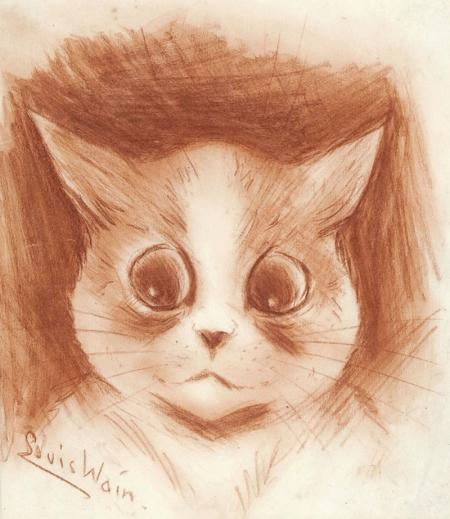 I WONDER - Louis Wain