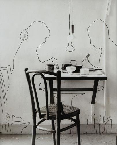 Sombras projetadas (com René Bertholo), 1964 - Lourdes Castro