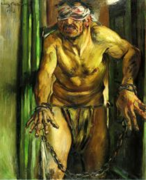 The Blinded Samson - Lovis Corinth
