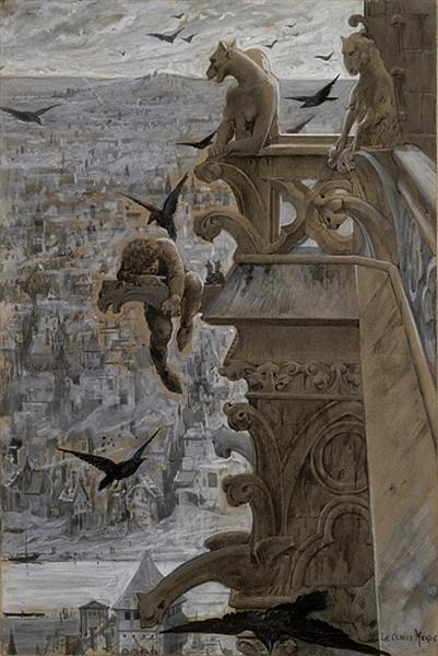 The Hunchback of Notre-Dame, 1881 - Люк-Олів'є Мерсон
