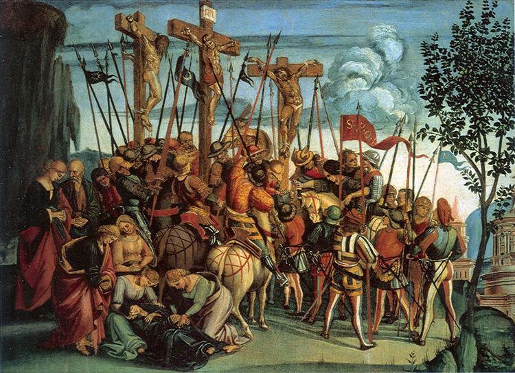 The Crucifixion, 1504 - 1505 - Luca Signorelli