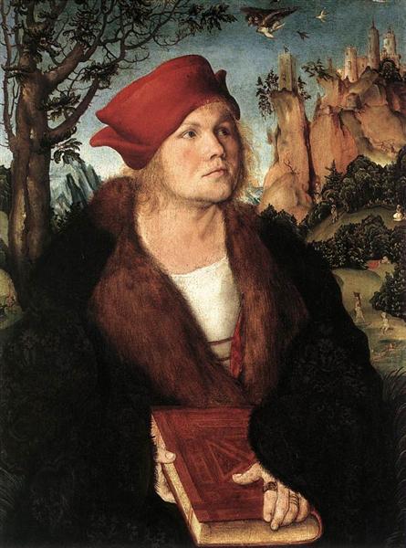 Dr. Johannes Cuspinian, c.1503 - Lucas Cranach the Elder