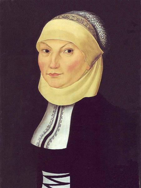 Katharina Luther, 1528 - Lucas Cranach der Ältere