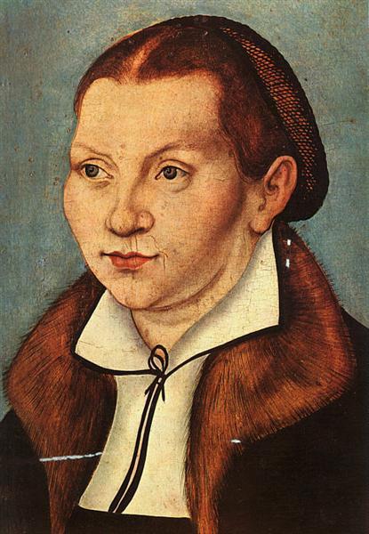 Katharina Luther, 1529 - Lucas Cranach der Ältere