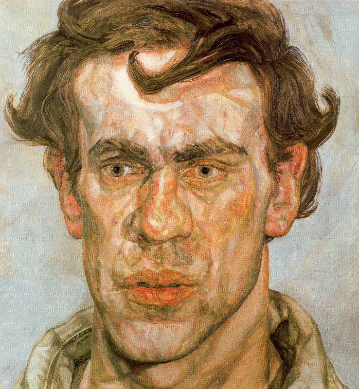 Lucian Freud A-young-painter