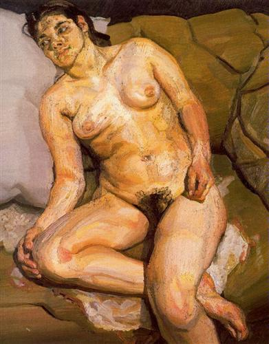 Esther - Lucian Freud