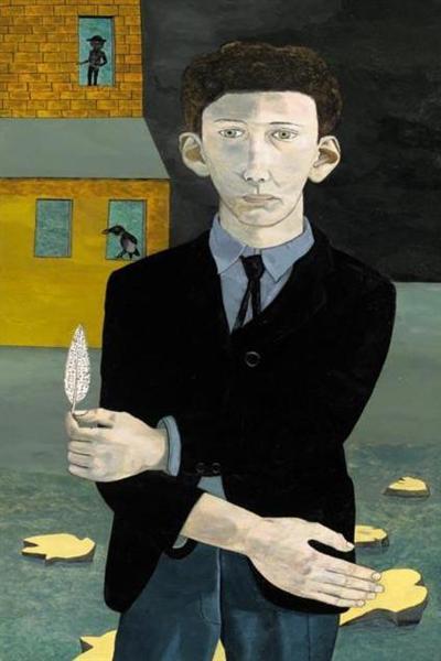 Мужчина с пером, 1943 - Люсьен Фрейд