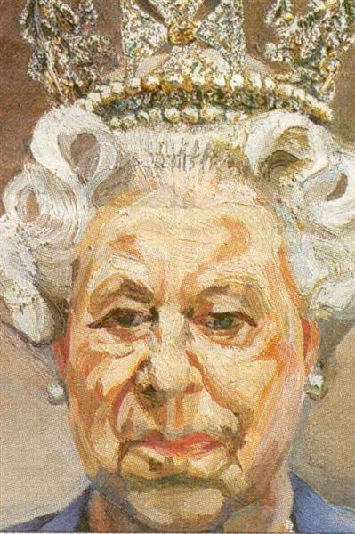 Queen Elizabeth II - Луціан Фройд