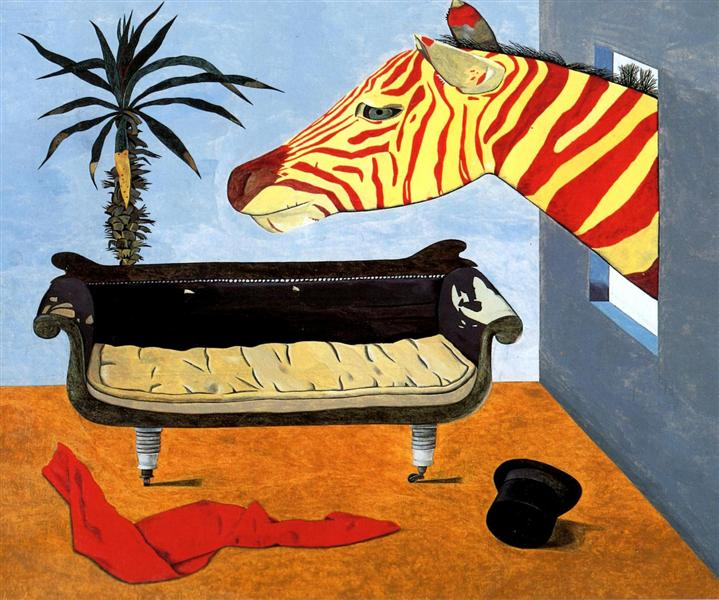 The Painter's Room, 1944 - Lucian Freud