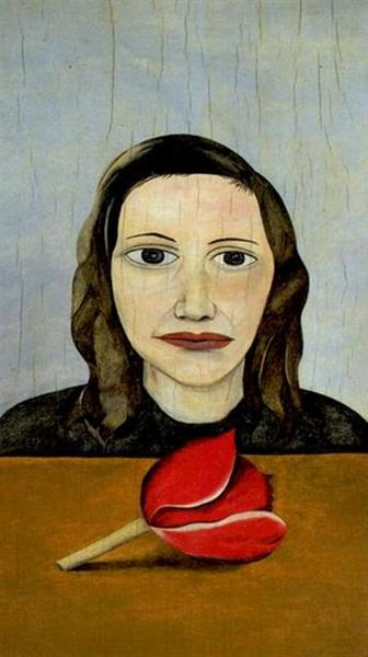 Woman with a Tulip, 1945 - Lucian Freud