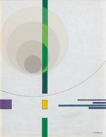 Composizione EE 1, 1981 - Luigi Veronesi