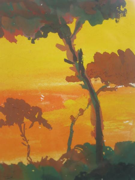 Landscape, 1959 - Luis Dourdil