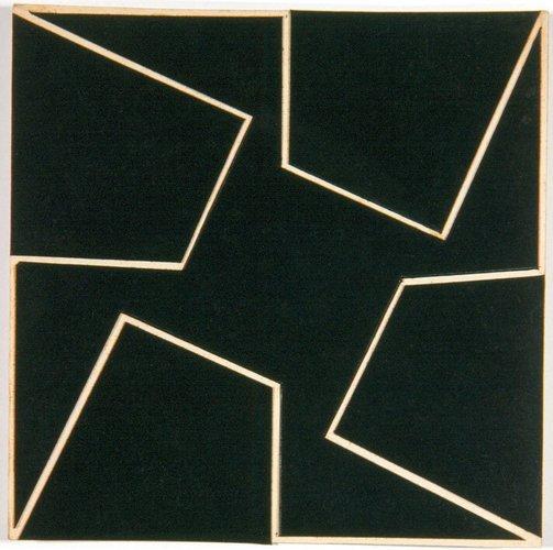 Planos em superficie modulada, 1952 - Lygia Clark