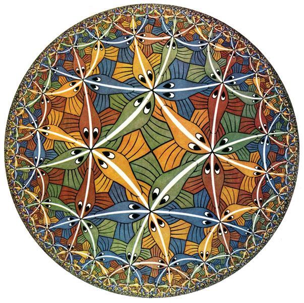 Circle Limit III, 1959 - M.C. Escher