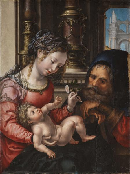 Holy family - Mabuse