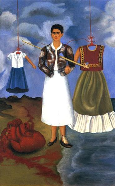Memory (The Heart), 1937 - Frida Kahlo