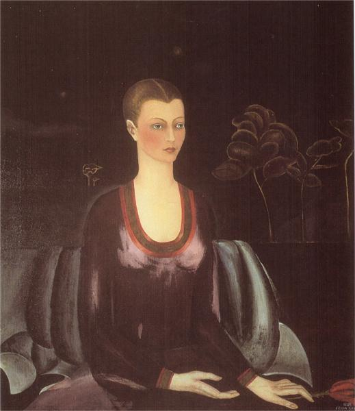 Portrait of Alicia Galant, 1927 - Frida Kahlo