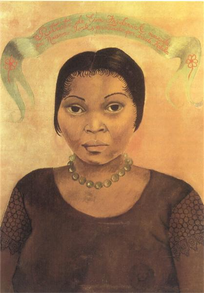 Portrait of Eva Frederick, 1931 - Frida Kahlo