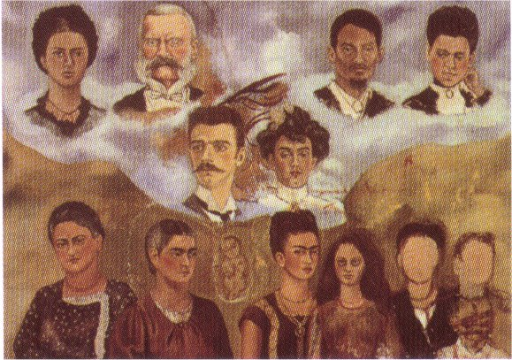 Portrait of Frida's Family, 1950 - 1954 - Frida Kahlo