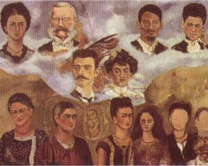 Portrait of Frida's Family - Frida Kahlo