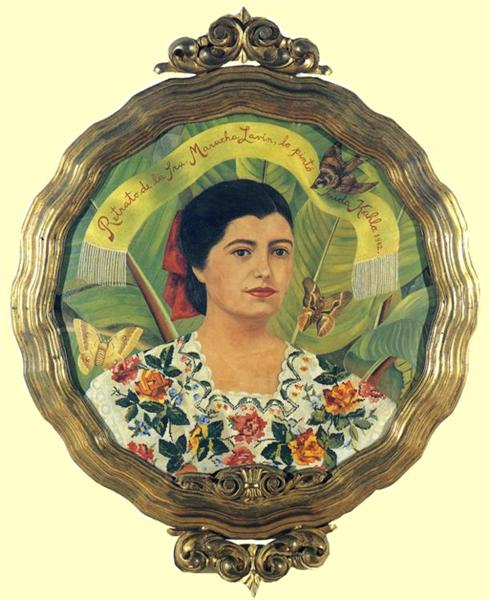 Portrait of Marucha Lavin, 1942 - Frida Kahlo
