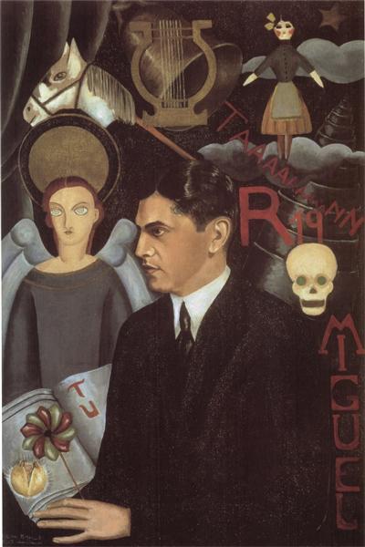 Portrait of Miguel N. Lira, 1927 - Frida Kahlo